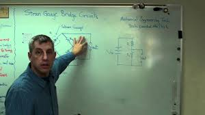 strain gauge 3 bridge circuits mp4