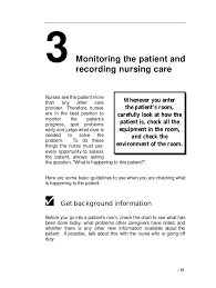 Chart Checks Nursing Vital Signs And Observation Of Patient