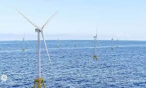 世界 最大 洋上 風力 発電 所