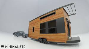 Small Picture OFF GRID MODERN TINY HOUSE ON WHEELS YouTube