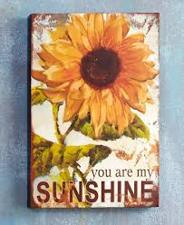 you are my sunshine indoor outdoor metal wall art sign plaque vintage look decor unbranded on retro outdoor metal wall art with you are my sunshine indoor outdoor metal wall art sign plaque