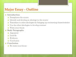 social globalization ppt video online  major essay outline introduction paraphrase the source