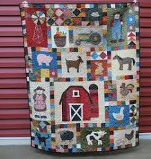 Grandpa's Farm Block of the Month Club You could make this ... & Farmer in the Dell quilt Adamdwight.com