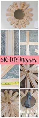 Diy Mirror Projects 160 Best Diy Home Decor Images On Pinterest Home Crafts And