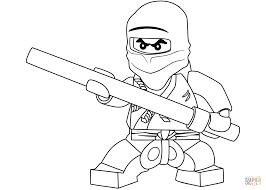 Small Picture Lego Ninjago Cole The Black Ninja Coloring Page Free Printable
