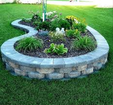 how to build raised garden. How To Build A Stone Raised Garden Bed Stones Flower Plans .