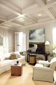 Ceiling, Artwork, shutters, One large piece of art can totally change the  look
