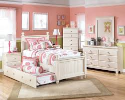 ashley furniture girls white bedroom set   -