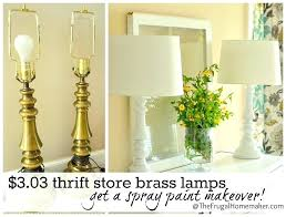 best spray paint for brass can you spray paint a lampshade best spray paint for lamp