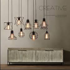 new diy led metal ceiling light vintage chandelier pendant edison lamp fixture