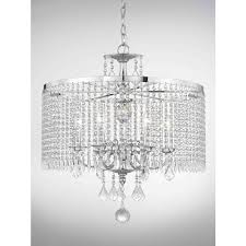 fifth and main lighting light polished chrome chandelier with k