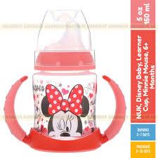 NUK, <b>Disney Baby</b>, <b>Learner</b> Cup, Minnie Mouse, 6+ Months, 150ml ...