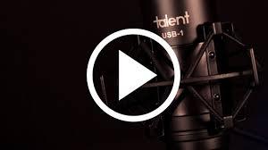 Talent USB-<b>1</b> and Be-A-Star <b>Mini Portable</b> Home Recording Studio ...