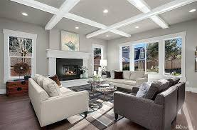 transitional living room furniture. Brilliant Living Living Room Ceiling Ideas Pictures Transitional With Ceilings  Box Beam System Metal With Transitional Living Room Furniture