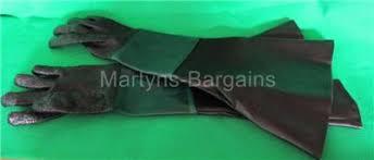 replacement gloves for magnum sand blasting cabinet sandblasting shot blast