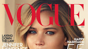 jennifer lawrence s cover story in vogue magazine s december 2016 issue vogue