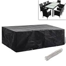 covers for outdoor patio furniture. Square-Rectangular-Furniture-Cover-Outdoor-Patio-Table-Chair- Covers For Outdoor Patio Furniture S