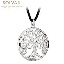 celtic pendant celtic tree of life pendant with cord