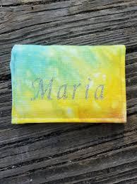 tie dye business cards minimalist wallet mini wallet business card holder gift card