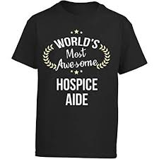 Amazon Com Worlds Most Awesome Hospice Aide Girl Kids T Shirt