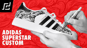 Adidas Superstar Cool Designs Adidas Superstar Custom Design Using Sharpie