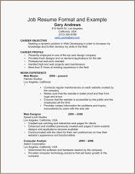 Usa Resume Format Free Download Resume Templates Resume Template