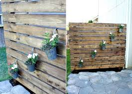 wood privacy fence diy