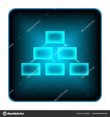 Background For Organizational Chart Organizational Chart Icon Internet Button White Background