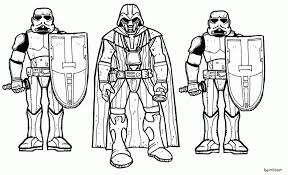 Star Wars Clone Wars Coloring Pages With Clone Coloring Pages