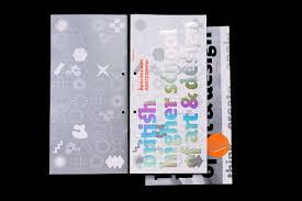 British Higher School Of Design British Higher School Of Art Design Brchures On Behance