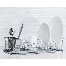 Dish Drying Rack Walmart Adorable Diamond HomeMetal Dish Drying Rack Walmart