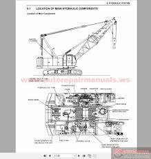 similiar crane hydraulic system diagram keywords crane hydraulic schematic diagram furthermore kobelco hydraulic