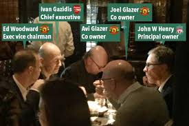Man United, Arsenal and Liverpool owners eat together in swanky restaurant  just days before Premier League rights vote