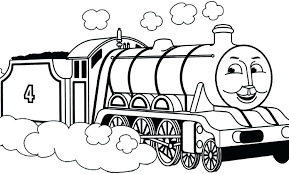 Thomas Coloring Book Pages The Train Coloring Pages Best Easy The