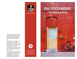 property pamphlet 3 free real estate brochure templates examples