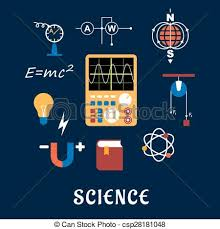Science Physics Science Physics Flat Icons Set