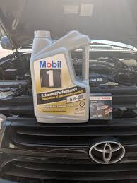 Mobil 1 Oil Filter Chart Toyota 4runner Oil Change Quick Reference Horsepower Hub