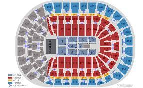 Panthers Stadium Chart Bb T Center Sunrise Fl Seating Chart View