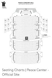 Peace Center Greenville Seating Chart