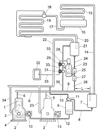 Patent us6263694 pressor protection device for refrigeration drawing diagram icon ground symbol electronics