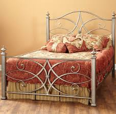 iron bedroom furniture. Katrina Iron Bed In German Silver Bedroom Furniture O