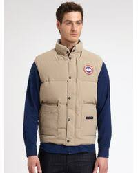 Canada Goose. Men s Natural Freestyle Vest