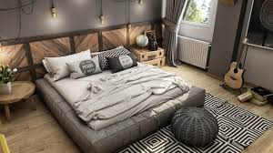 Modern Vintage Bedroom Ideas With Grey Colors