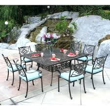 8 person patio table round outdoor dining table for 8 inspirational design 8 person outdoor dining 8 person patio table