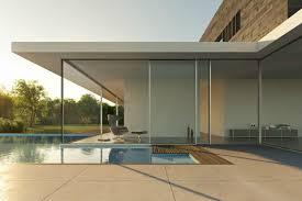 Rahmenloses Fenster Modern Und Naturverbunden Wohnen