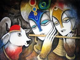 Krishna Painting Wallpaper (Page 4 ...