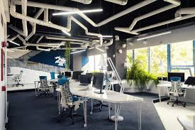 Contemporary Office Designs Mesmerizing Office And Workspace Designs Incredible Spaceship Styled Office