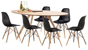 sku feel1402 betty dining table set with 6 replica eames chairs is also sometimes listed under the following manufacturer numbers 41 054 kit 7