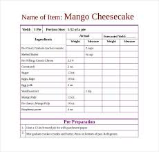 recipe template free 43 amazing blank recipe templates for enterprising chefs pdf doc