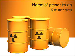 nuclear powerpoint template. Nuclear Waste PowerPoint Template Backgrounds Google Slides ID